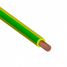 Провод установочный ПуГВ 1х0.75 желто-зеленый многопроволочный