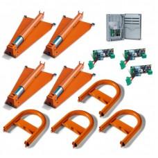 Комплект парковочной системы UNIPARK4 (4 парковочных места)
