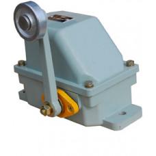 Выключатель концевой КУ-701 У1, рычаг с роликом, 10А, IP54, 2 эл. цепи