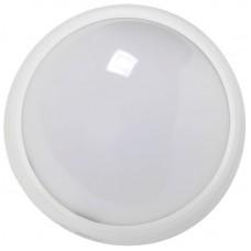 Светильник светодиодный ДПО 3010 8Вт 4500K IP54 круг белый пластик IEK (LDPO0-3010-8-4500-K01)