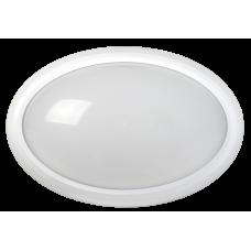 Светильник светодиодный ДПО 3020 8Вт 4500K IP54 овал пластик белый IEK (LDPO0-3020-8-4500-K01)