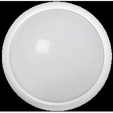 Светильник светодиодный ДПО 3030 12Вт 4500K IP54 круг белый пластик IEK (LDPO0-3030-12-4500-K01)