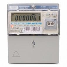 Счетчик электроэнергии CE102 R5.1 145-J однофазный многотарифный, 5(60), кл.точ. 1.0, D+Щ, ЖКИ, оптопорт (101002003011695-TP104 )