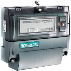 Счетчик электроэнергии Меркурий 200.02 однофазный многотарифный, 5(60), кл.точ. 1.0, D, ЖКИ, CAN (32449 )