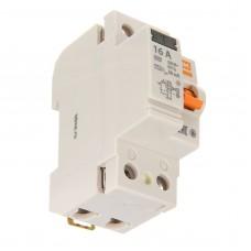 Выключатель дифференциального тока (УЗО) ВД63 2Р 16А 30мА (электронное) TDM (SQ0220-0001)
