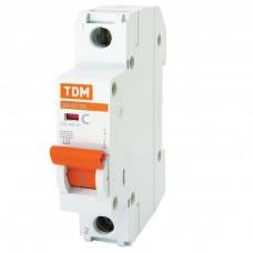Автоматический выключатель ВА47-29 1Р  0,5А 4,5кА х-ка С TDM (SQ0206-0081)